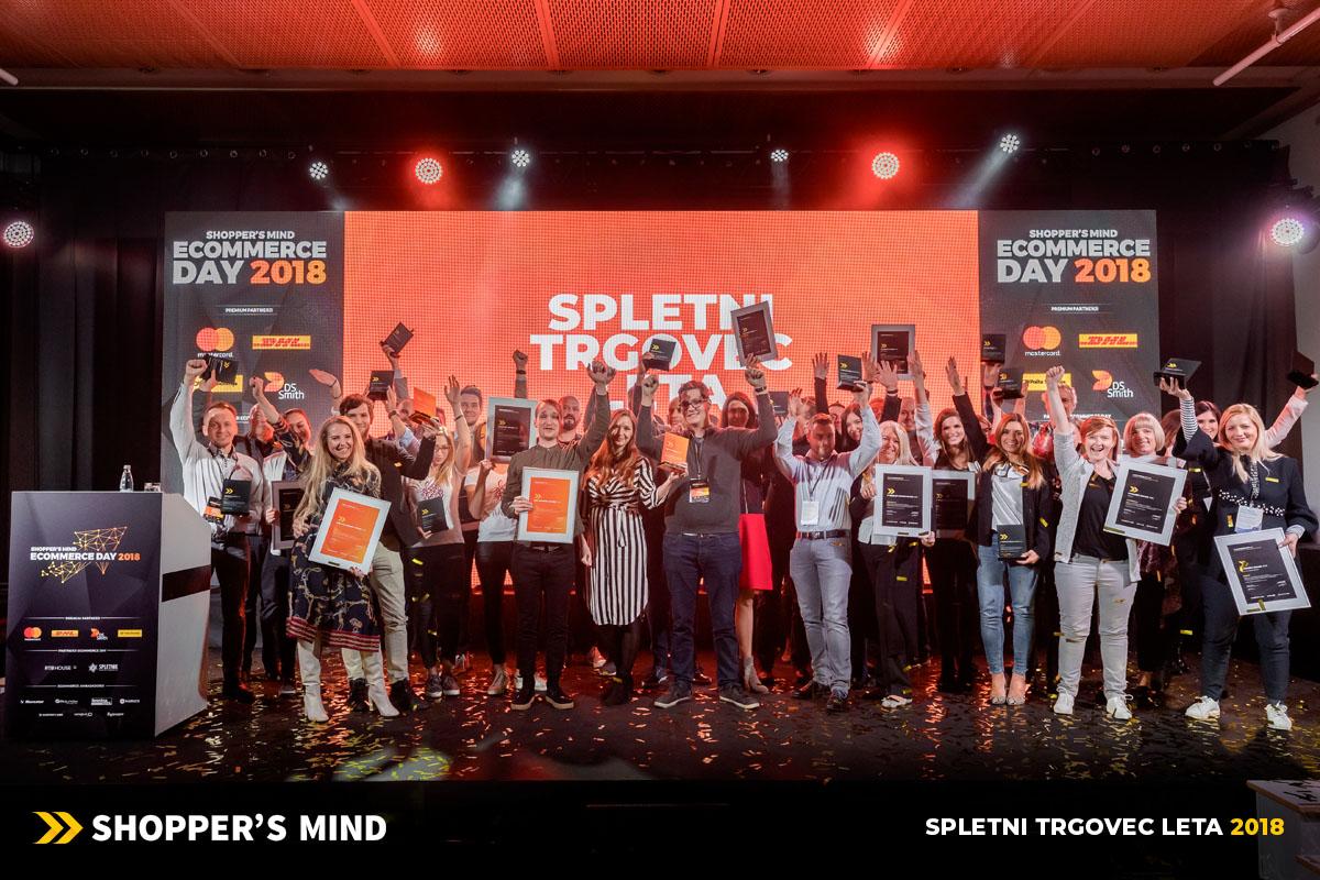 Spletni trgovec leta 2018, Ecommerce Day 2018
